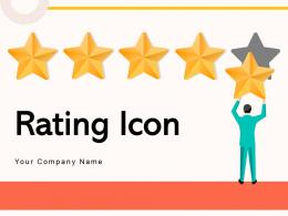 Rating Icon Business Valuation Review Product Feature Symbol