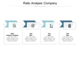 Ratio Analysis Company Ppt Powerpoint Presentation Infographics Aids Cpb