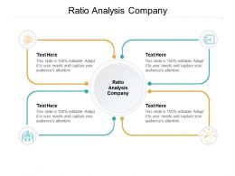 Ratio Analysis Company Ppt Powerpoint Presentation Portfolio Skills Cpb