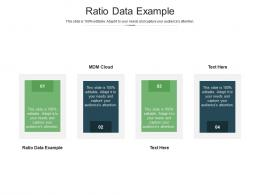 Ratio Data Example Ppt Powerpoint Presentation Slides Portfolio Cpb