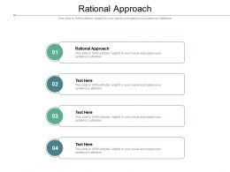 Rational Approach Ppt Powerpoint Presentation Inspiration Visuals Cpb