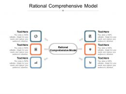 Rational Comprehensive Model Ppt Powerpoint Presentation Outline Tips Cpb