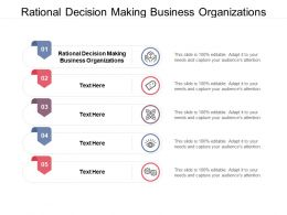 Rational Decision Making Business Organizations Ppt Powerpoint Presentation Infographic Cpb