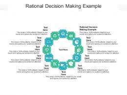 Rational Decision Making Example Ppt Powerpoint Presentation Guide Cpb