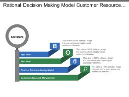 Rational Decision Making Model Customer Resource Management Effective Collaboration Cpb