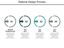 Rational Design Process Ppt Powerpoint Presentation Outline Graphic Tips Cpb