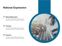 Rational Expression Ppt Powerpoint Presentation Infographic Template Elements Cpb