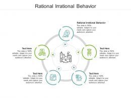 Rational Irrational Behavior Ppt Powerpoint Presentation Professional Model Cpb