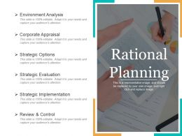 Rational Planning PPT Slide Templates