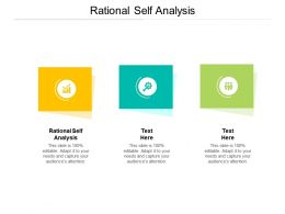 Rational Self Analysis Ppt Powerpoint Presentation Slides Tips Cpb