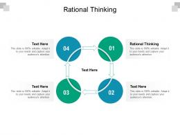 Rational Thinking Ppt Powerpoint Presentation Styles File Formats Cpb