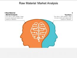 Raw Material Market Analysis Ppt Powerpoint Presentation File Outline Cpb