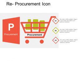 Re Procurement Icon