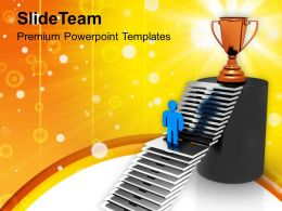 Reach The Target Winner Competition Powerpoint Templates Ppt Themes And Graphics 0113