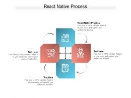 React Native Process Ppt Powerpoint Presentation File Design Ideas Cpb