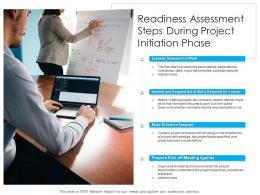 Readiness Assessment Steps During Project Initiation Phase