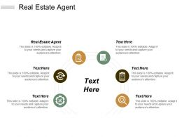 Real Estate Agent Ppt Powerpoint Presentation Pictures Display Cpb