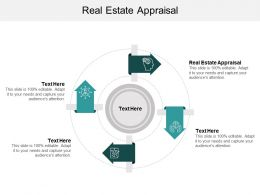 Real Estate Appraisal Ppt Powerpoint Presentation Show Designs Cpb