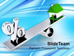Real Estate Balance Comparison Business Powerpoint Templates Ppt Themes And Graphics 0113