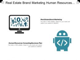 Real Estate Brand Marketing Human Resources Consulting Business Plan Cpb