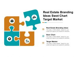 real_estate_branding_ideas_swot_chart_target_market_cpb_Slide01