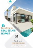 Real Estate Brochure Design Four Page Template