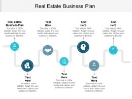 Real Estate Business Plan Ppt Powerpoint Presentation Gallery Guide Cpb