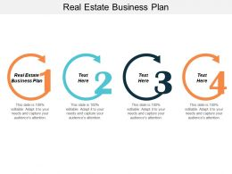 Real Estate Business Plan Ppt Powerpoint Presentation Icon Introduction Cpb