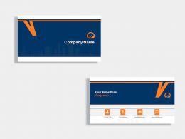 Real Estate Construction Company Business Card Design Template