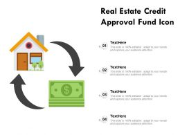 Real Estate Credit Approval Fund Icon