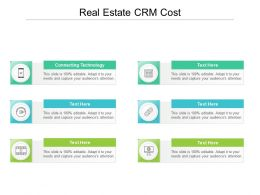Real Estate CRM Cost Ppt Powerpoint Presentation Portfolio Inspiration Cpb