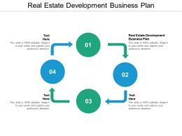 Real Estate Development Business Plan Ppt Powerpoint Presentation Infographics Graphics Cpb