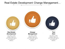 Real Estate Development Change Management Management Training Program Cpb