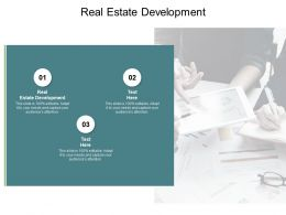Real Estate Development Ppt Powerpoint Presentation Layouts Slide Cpb