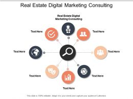 Real Estate Digital Marketing Consulting Ppt Powerpoint Presentation Ideas Grid Cpb