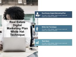 Real Estate Digital Marketing Plan White Hat Technique Cpb