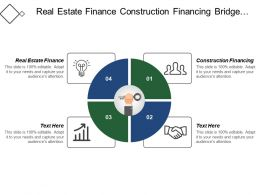 Real Estate Finance Construction Financing Bridge Financing Public Finance