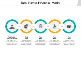 Real Estate Financial Model Ppt Powerpoint Presentation Portfolio Show Cpb