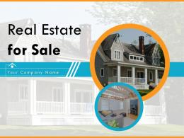 Real Estate For Sale Powerpoint Presentation Slides