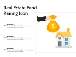 Real Estate Fund Raising Icon