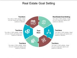 Real Estate Goal Setting Ppt Powerpoint Presentation Pictures Model Cpb