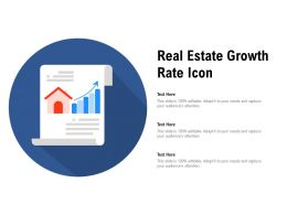 Real Estate Growth Rate Icon