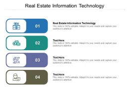 Real Estate Information Technology Ppt Powerpoint Presentation Model Backgrounds Cpb