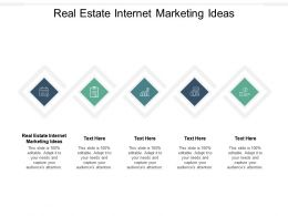Real Estate Internet Marketing Ideas Ppt Powerpoint Presentation Gallery Show Cpb