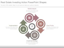 Real Estate Investing Action Powerpoint Shapes