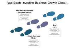 Real Estate Investing Business Growth Cloud Business Model Cpb