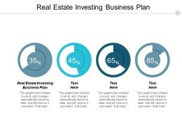Real Estate Investing Business Plan Ppt Powerpoint Presentation Pictures Show Cpb
