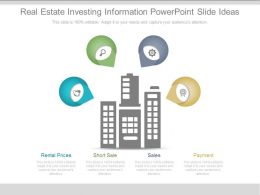 Real Estate Investing Information Powerpoint Slide Ideas