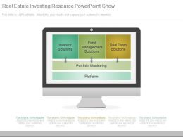 Real Estate Investing Resource Powerpoint Show