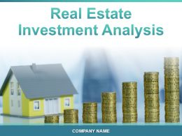 Real Estate Investment Analysis Powerpoint Presentation Slides
